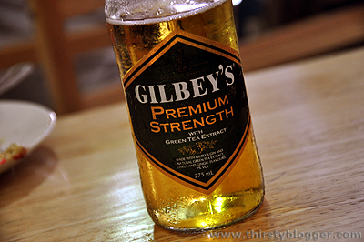 gilbeys premium strength Gilbeys Premium Strength with Green Tea Extract