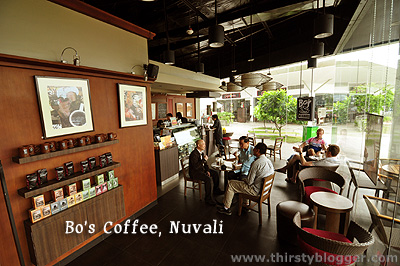 bos nuvali Bos Coffee: Biscotti Amaretto and More