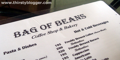 bag-of-beans-menu